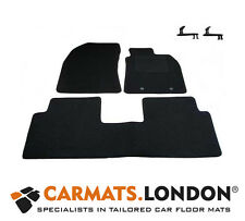 Toyota Avensis 2009 - 2012 Tailored Fitted Car Floor Mats Fitted Set in Black