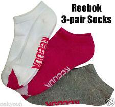 Reebok Performance Sport Socks. 3-pair, Fits Shoe Size(6-10.5)