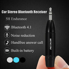 3.5mm AUX Bluetooth 4.1 Auto Stereo Audio Musica Ricevitore Adattatore + Cavo