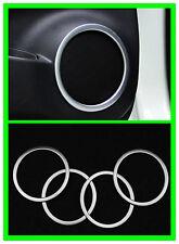 fit 2014-2017 Nissan Rogue X-Trail Car Inner Door Speaker Cover Decor Ring-Matt