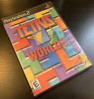 TETRIS WORLDS (SONY PLAYSTATION 2, PS2, 2002) - FREE SHIPPING!