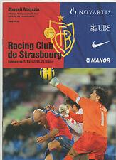 Orig.PRG   UEFA Cup  2005/06   FC BASEL - RACING STRASBOURG  1/8 FINALE  !!
