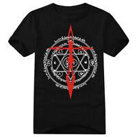 Anime Fate Stay Night Zero Noble Phantasm Saber Cotton T-Shirt Tee Shirts Tops