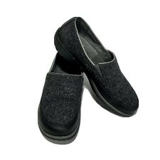 Chaco Sloan Wool Leather Slip-On Loafers Sandstone (Gray, Black) Size 9