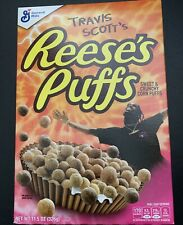 Travis Scott X Reeses Puffs Cereal Limited Edition