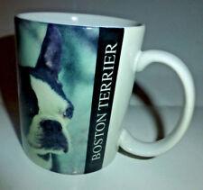 1994 Xpres Corp. Boston Terrier Dog Ceramic Coffee Photo Mug