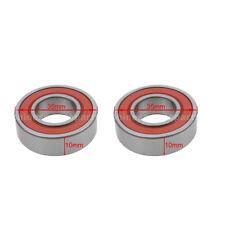 2 x 6003 LU Sealed Ball Bearing 17X35X10 mm for JOG 50cc 2 Stroke 6003LU New