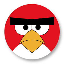 Pin Button Badge Ø38mm Angry Birds Oiseau Rouge Red Bird Jeux Iphone