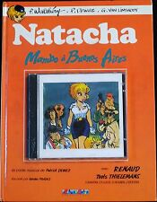 EO BD WALTHERY 1990 Notes en bulles Natacha Mambo à Buenos Aires + CD MINT