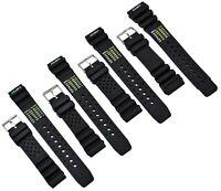 Caoutchouc Montre Bracelet Noir Convenable Citizen Promaster 18-24mm de