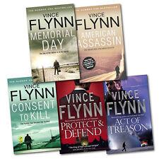 Mitch Rapp Collection Vince Flynn 5 Books Set, American Assassin, Brand New PB