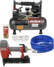 SENCO Kompressor Set PC1010/SLS18Mg Klammergerät inkl. Schlauch, Klammern