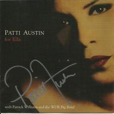 Patti Austin: For Ella [Jazz Vocals]        CD