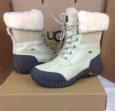 UGG AUSTRALIA ADIRONDACK SAND COLOR LACE UP WINTER BOOTS SIZE 7 US