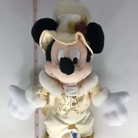 Walt Disneyland Victorian Mickey Bean Bag Mouse Vintage Plush Soft Toy