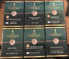NRA Heritage DVD Set * 6 Discs * Browning Luger Smith & Wesson Colt Tommy Gun