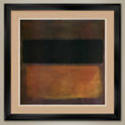"""35W""""x35H"""": NUMBER 10, 1963 by MARK ROTHKO - DOUBLE MATTE, GLASS and FRAME"""