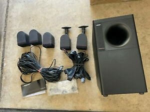 Bose Acoustimass 6 Series II Home Theater System 5 Speakers and Sub