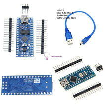 5V V3.0 Mini USB Nano ATmega168 ATmega328 CH340G Board  Cable 30cm For Arduino R