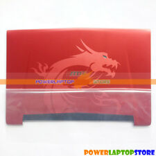 New Red LCD Cover Back Case For MSI GT72 GT72S 1781 1782 Laptop 307-782A433-Y31