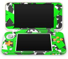 Nintendo NEW 2DS XL Aufkleber Skin Schutzfolie Sticker Klebefolie Signal Green