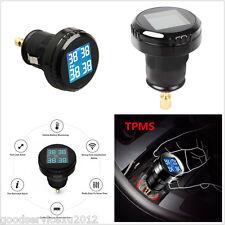 DC12V Wireless Car TPMS Tire Tyre Pressure Monitor System 4 External Sensors Kit
