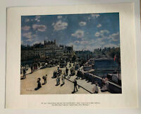 "Auguste RENOIR ""Pont Neuf, Paris""  11""x14"" print - National Gallery of Art"