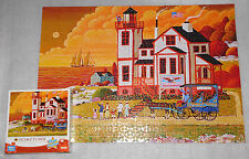 Sunset Visit Heronim Black Cat Hometown Collection Jigsaw Puzzle 1000 Pieces