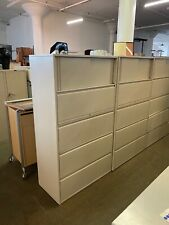 New Listing4dr 36w X 18d X 62 34h Lateral File Cabinet With Storage By Haworth Office