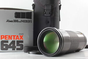 [Near MINT BOXED ] SMC Pentax-A 645 300mm F4 ED IF Green Star MF Lens From JAPAN