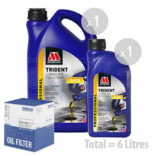 Engine Oil and Filter Service Kit 6 LITRES Millers Oils LL Fuel Economy 5 6L