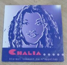 CD CHALIA Dis Moi Comment Tu T'Appelles SC 9606