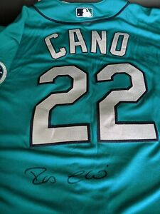ROBINSON CANO - PSA / DNA Authenticated Signed Autographed MAJESTIC Jersey