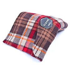 Portable Travel Airplane Sleep Support Neck Pillow Memory Foam Nap Scarf Cushion
