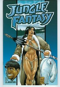 Jungle Fantasy #5  Tundra Version  Avatar  9.4 NM  Cavewoman wantabe