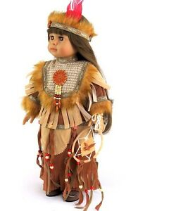 """Doll Clothes 18"""" Dress Native American Dream Catcher Fits American Girl Doll"""
