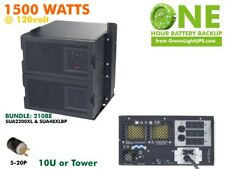 One Hour Runtime UPS for 1500watts - 2kva Tower APC Online Solution 60m (oh1500)