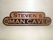 Personalized MAN CAVE Wooden outdoor Sign, Laser Engraved,gift.