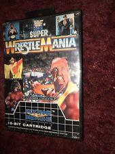 WWF Super Wrestlemania Boxed Sega Mega Drive Game Cartridge - Flying Edge