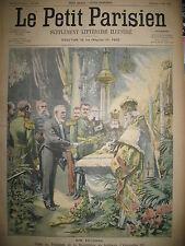 RUSSIE SAINT-PETERSBOURG TOMBEAU ALEXANDRE III MARTINIQUE LE PETIT PARISIEN 1902