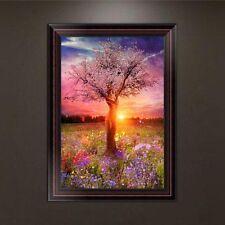 DIY 5D Diamond Embroidery Beauty Tree Painting Cross Stitch Craft Home Decor