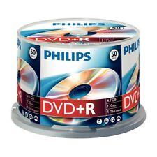 Philips DVD+R Rohlinge 50er Spindel 4.7 GB 16x DR4S6B50F/00 NEU Cakebox