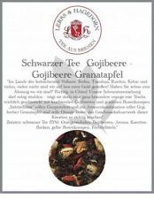 Schwarzer Tee  Gojibeere 1 kg - Gojibeere-Granatapfel
