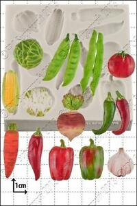 Silicone mould Vegetables | Food Use FPC Sugarcraft FREE UK shipping!