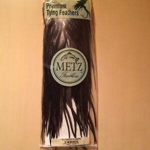 METZ #2  DUN SADDLE  -- Fly Tying Quality