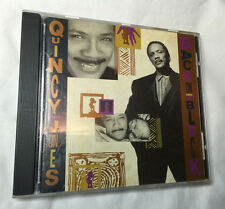 Qiuncy Jones Back on The Block, Jazz, 1989, Quest Records, Free Shipping U.S.A.