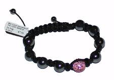 Shambala Friendship Bracelets Hematite Crystal Disco Ball Bead - ***NEW*** -  UK