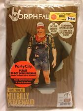 Morphfauxreal hillbilly suit. Medium large and extra-large