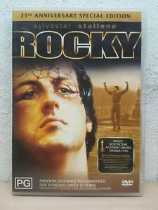 Rocky 1 First Movie DVD 25th Anniversary Special Edition - REGION 4 Action