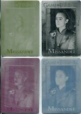 Game Of Thrones Season 8 Archive Exc. Printing Plate Base Set [4] #29 Missandei